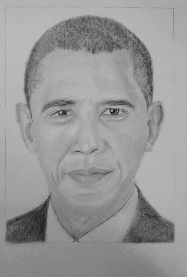 Barack Obama by lilicobain
